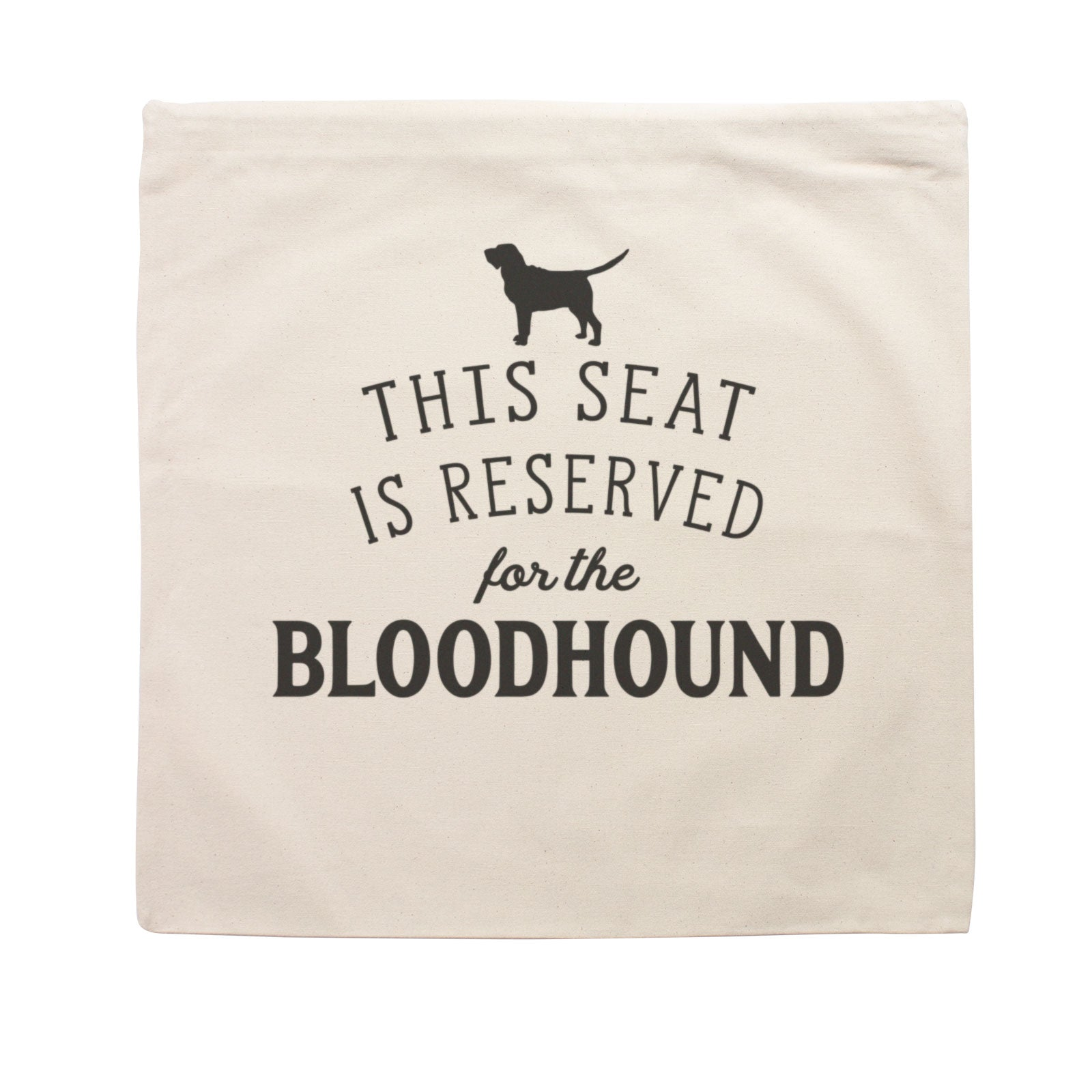 Reserved for the Bloodhound Dog Cushion Cover