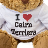 I Love Cairn Terriers - Teddy Bear