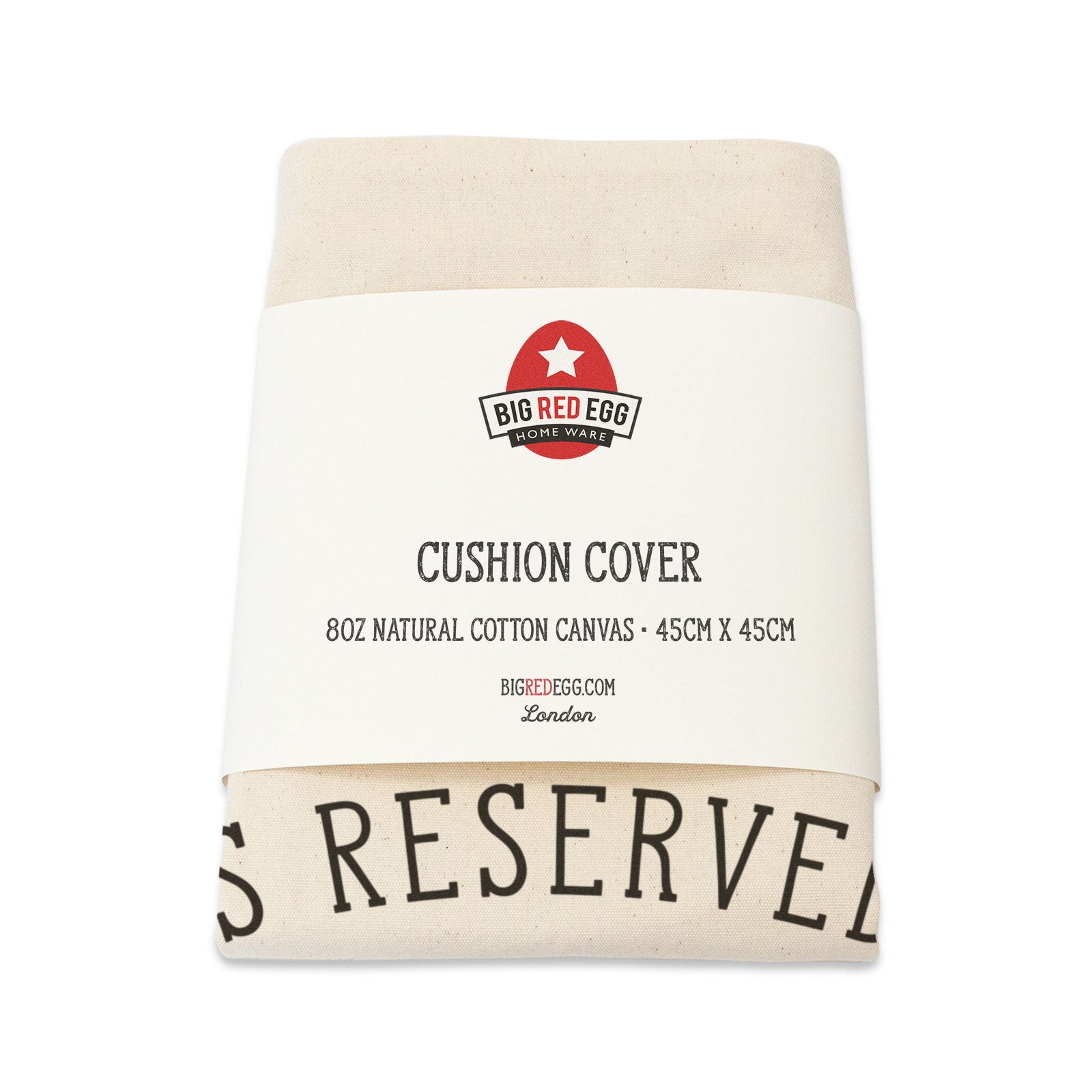 Reserved for the Golden Retriever Cushion Cover
