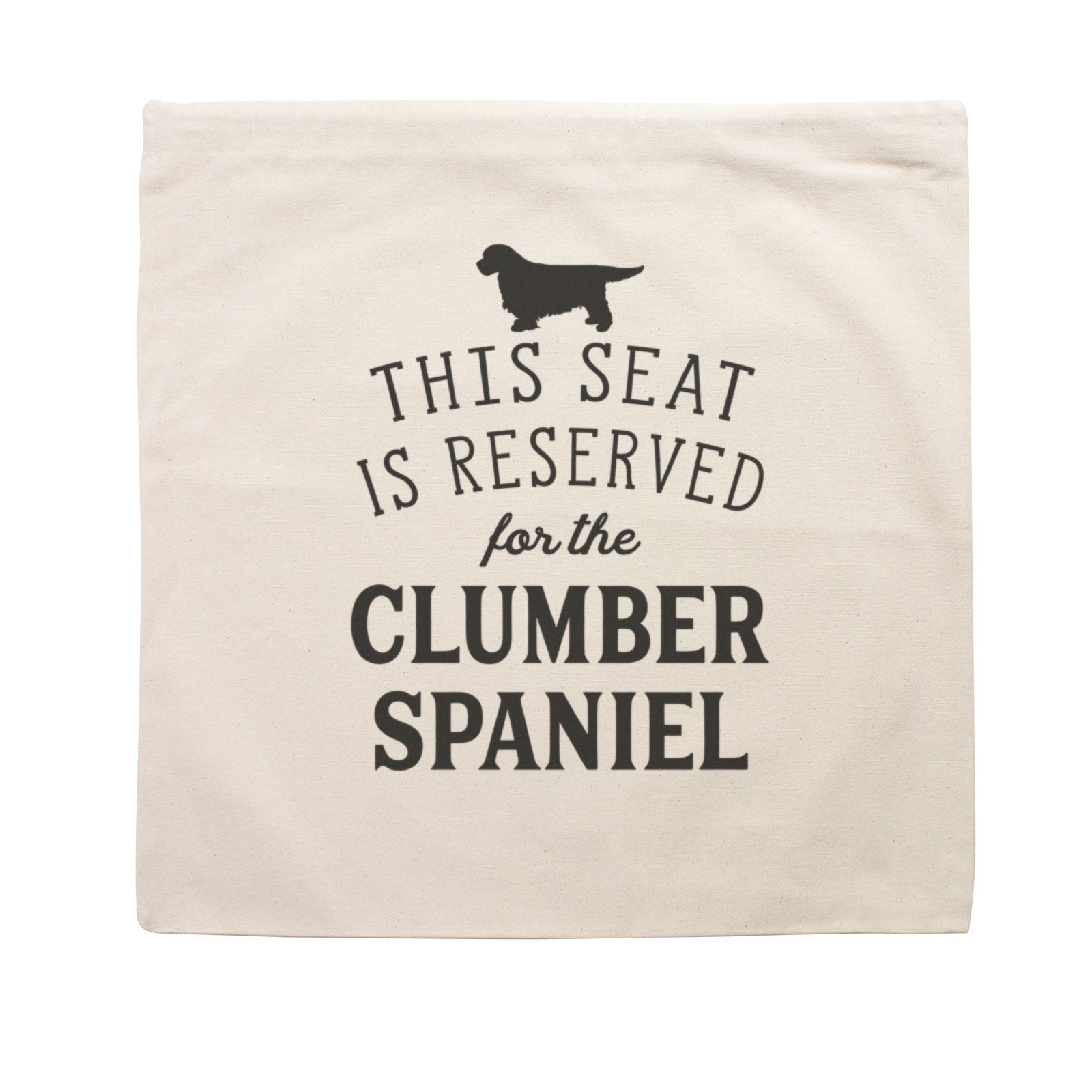 Reserved for the Clumber Spaniel Cushion Cover