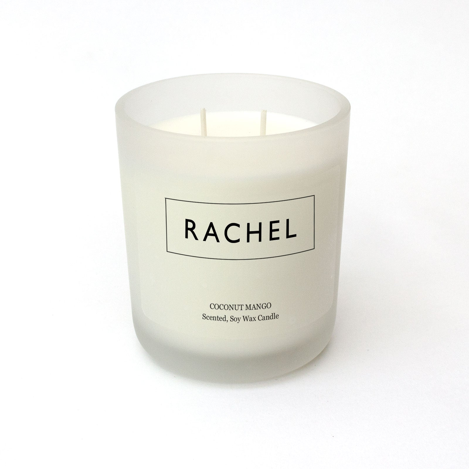 Personalised Name Candle - Minimal Design