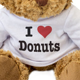 I Love Donuts - Teddy Bear