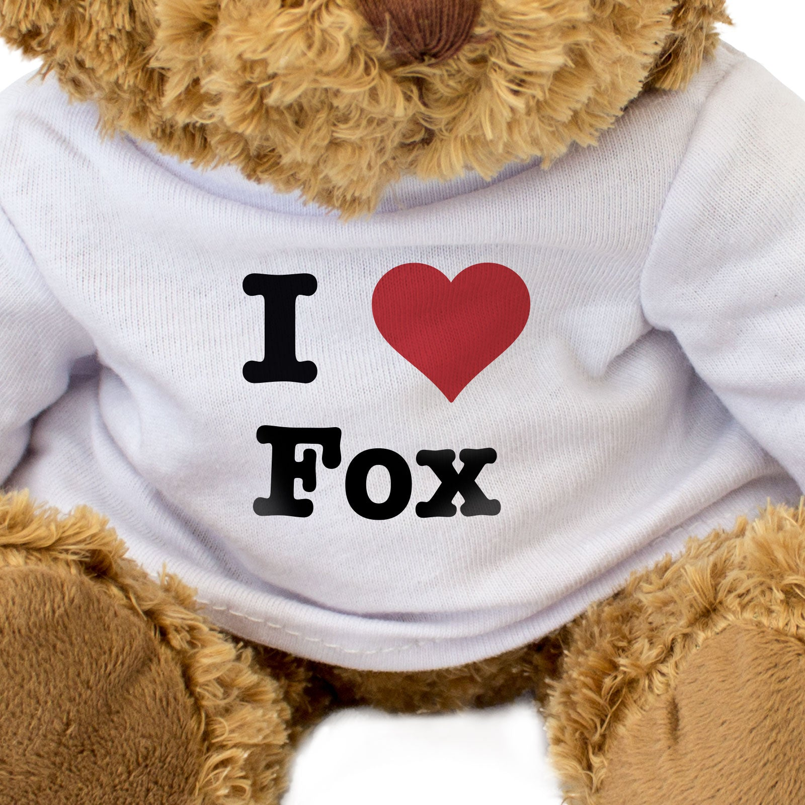 I Love Fox - Teddy Bear