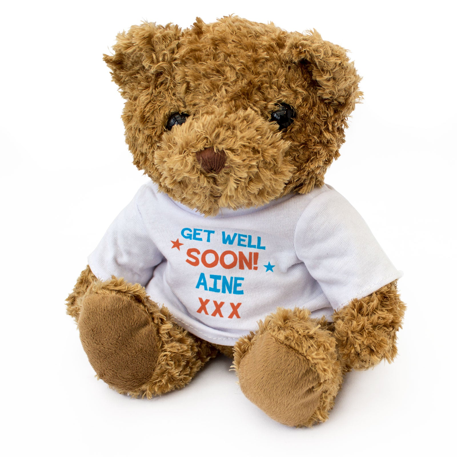 Get Well Soon Aine - Teddy Bear