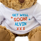 Get Well Soon Alvin - Teddy Bear