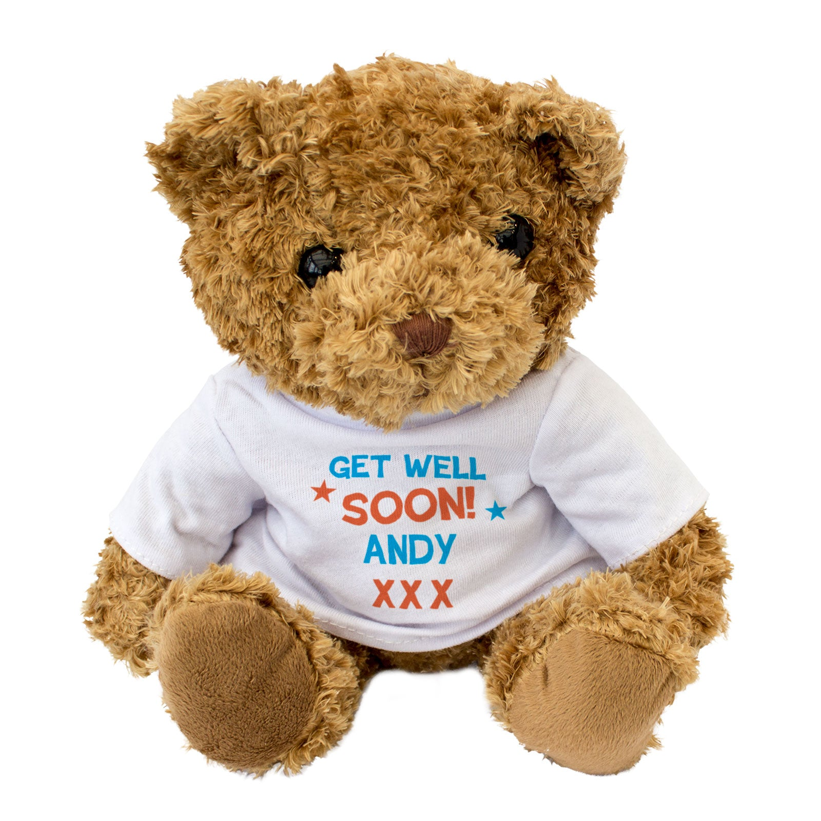 Get Well Soon Andy - Teddy Bear