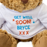Get Well Soon Bryce - Teddy Bear