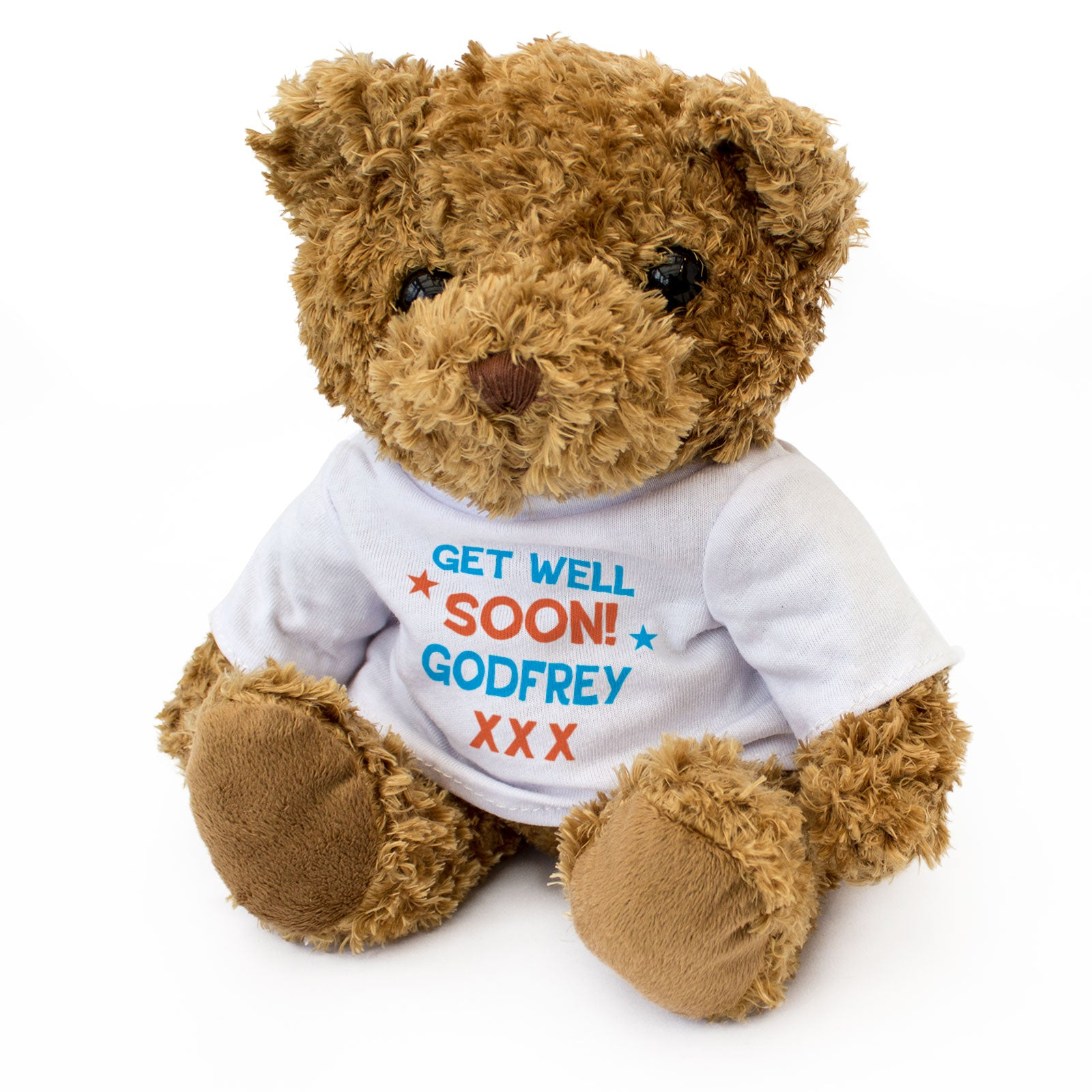 Get Well Soon Godfrey - Teddy Bear
