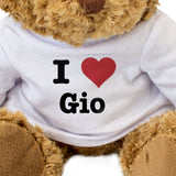 I Love Gio - Teddy Bear