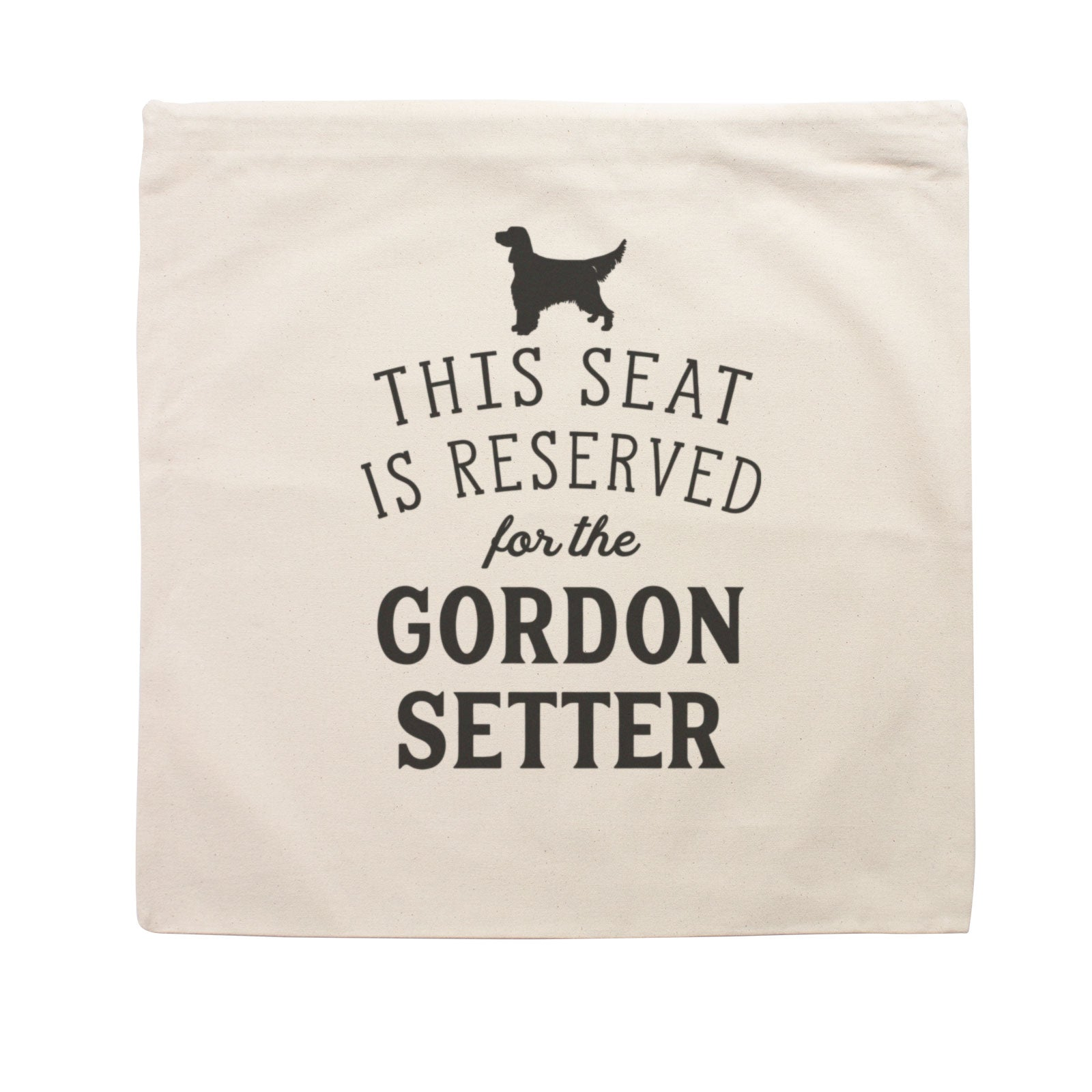 Reserved for the Gordon Setter Cushion Cover