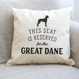 Reserved for the Great Dane Cushion Cover