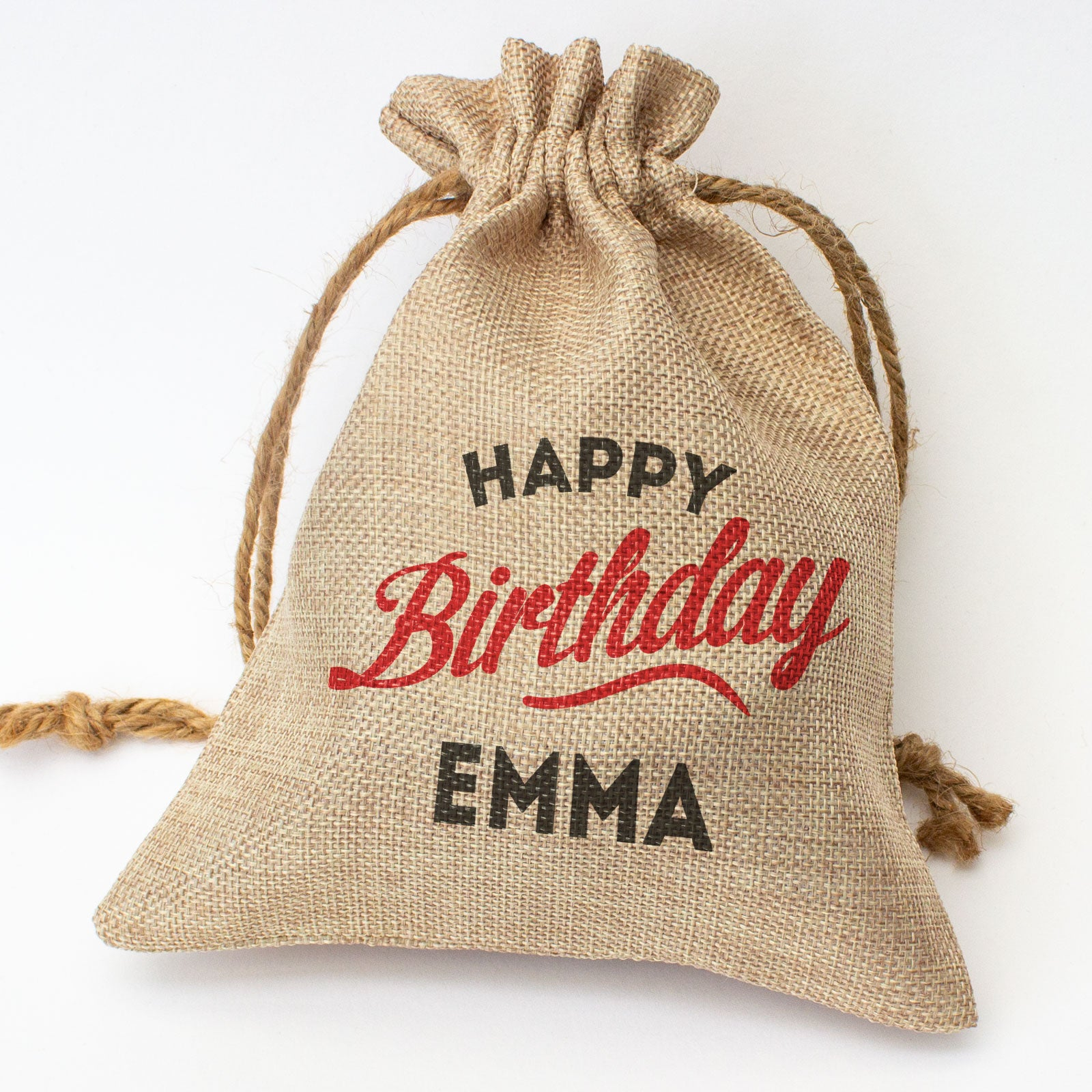 HAPPY BIRTHDAY EMMA - Toasted Coconut Bowl Candle – Soy Wax - Gift Present