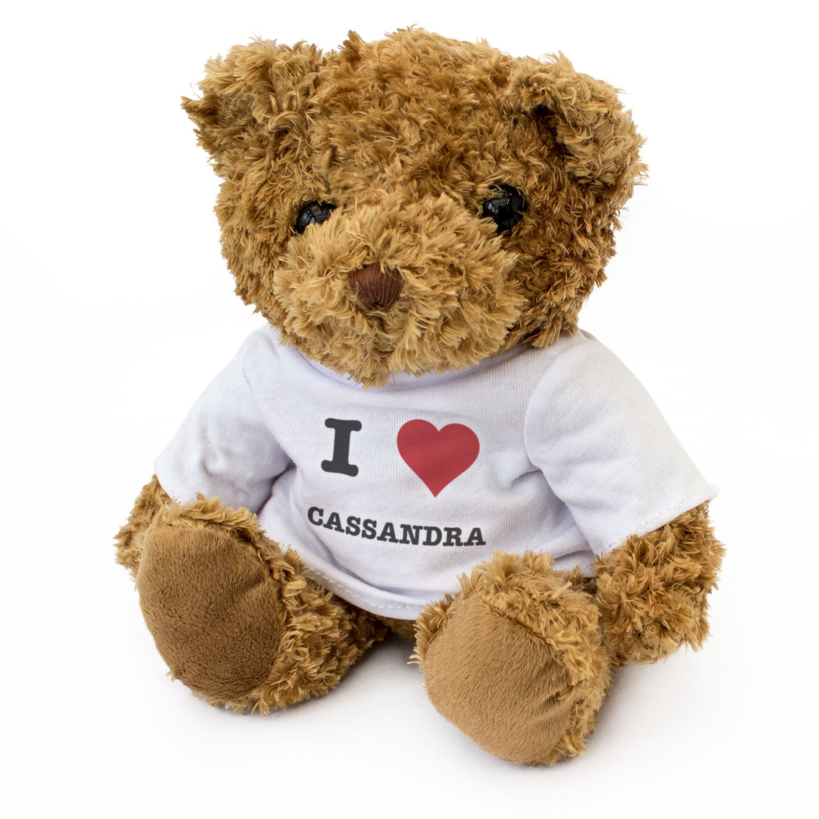I Love Cassandra - Teddy Bear