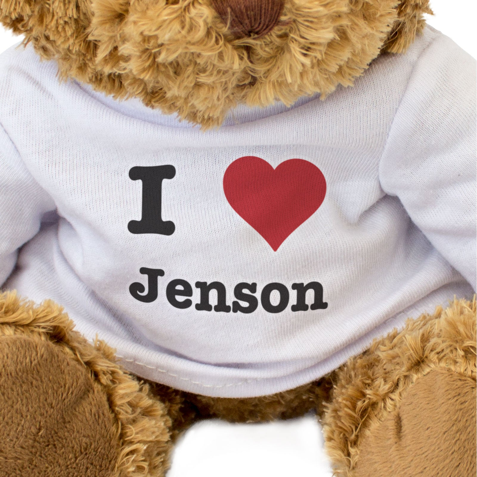 I Love Jenson - Teddy Bear