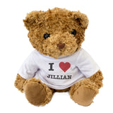 I Love Jillian - Teddy Bear