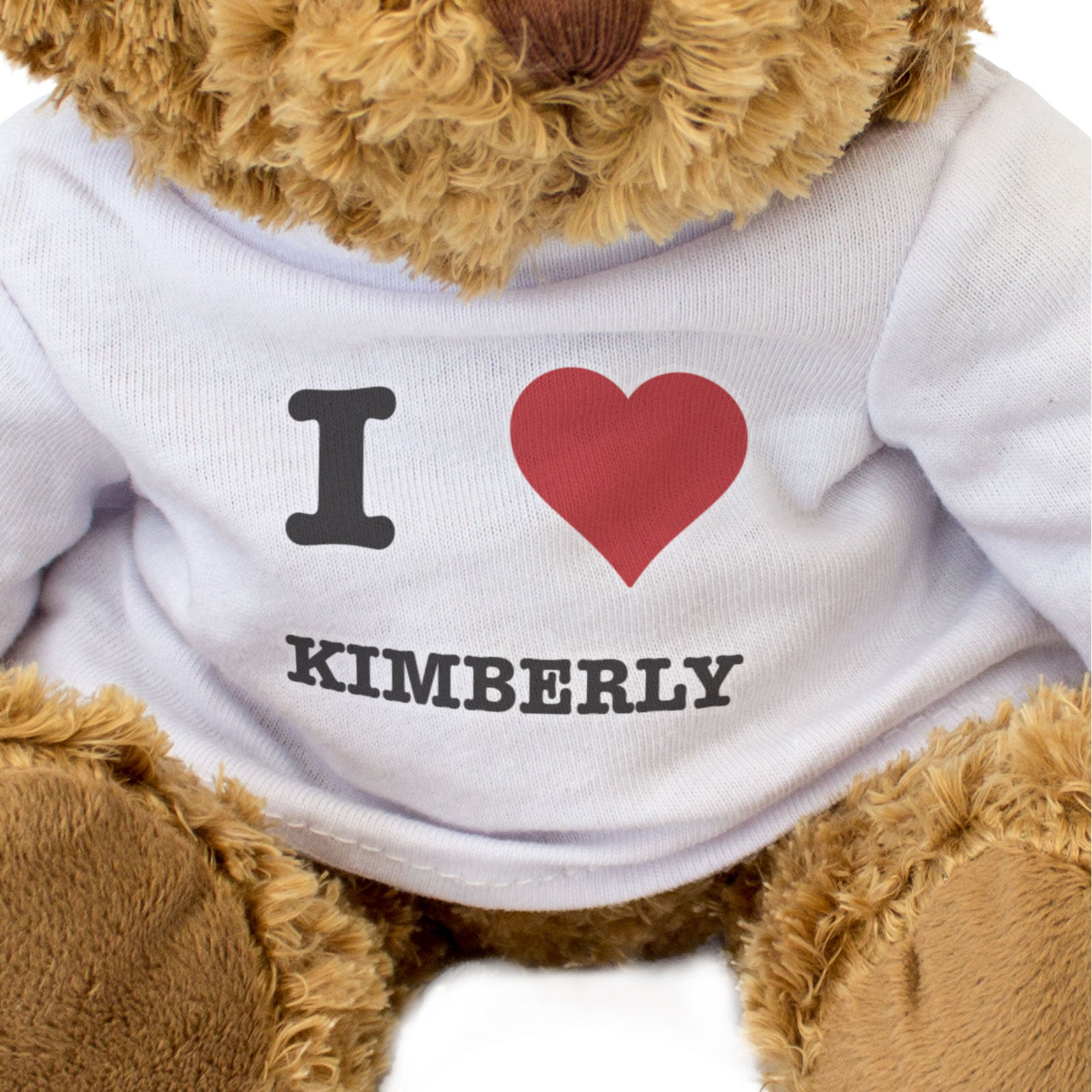 I Love Kimberly - Teddy Bear