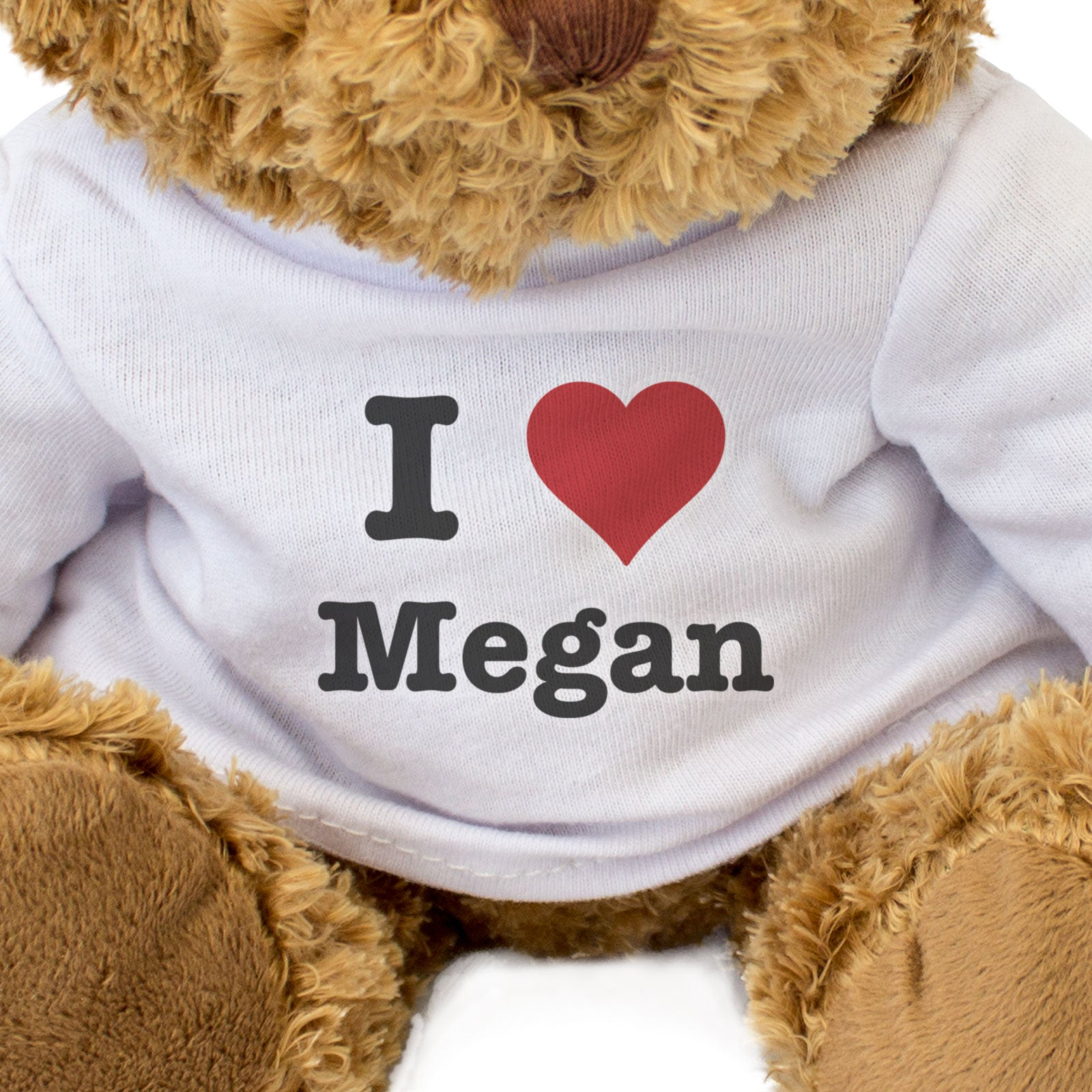 I Love Megan - Teddy Bear