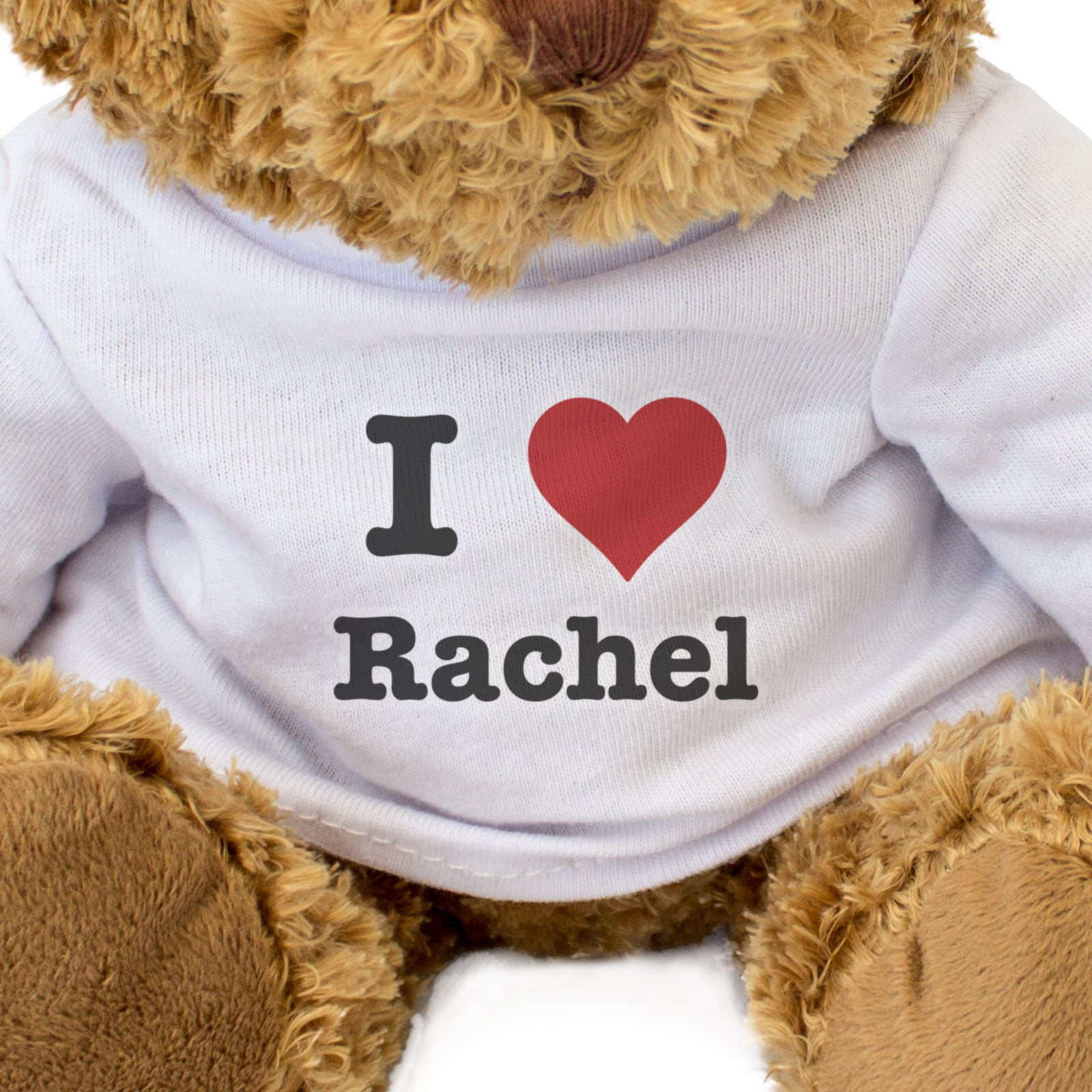 I Love Rachel - Teddy Bear