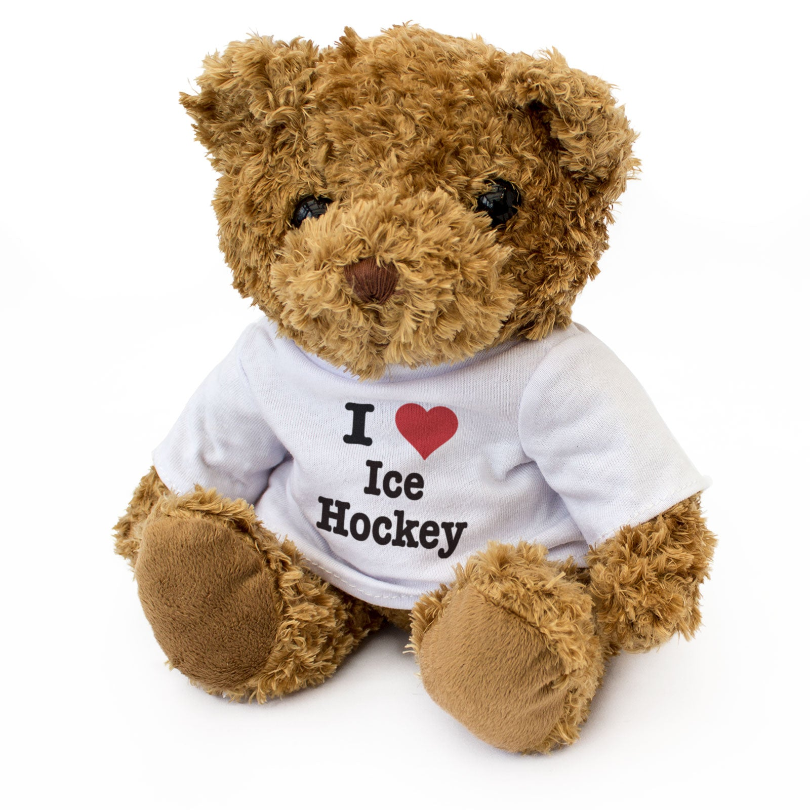 I Love Ice Hockey - Teddy Bear