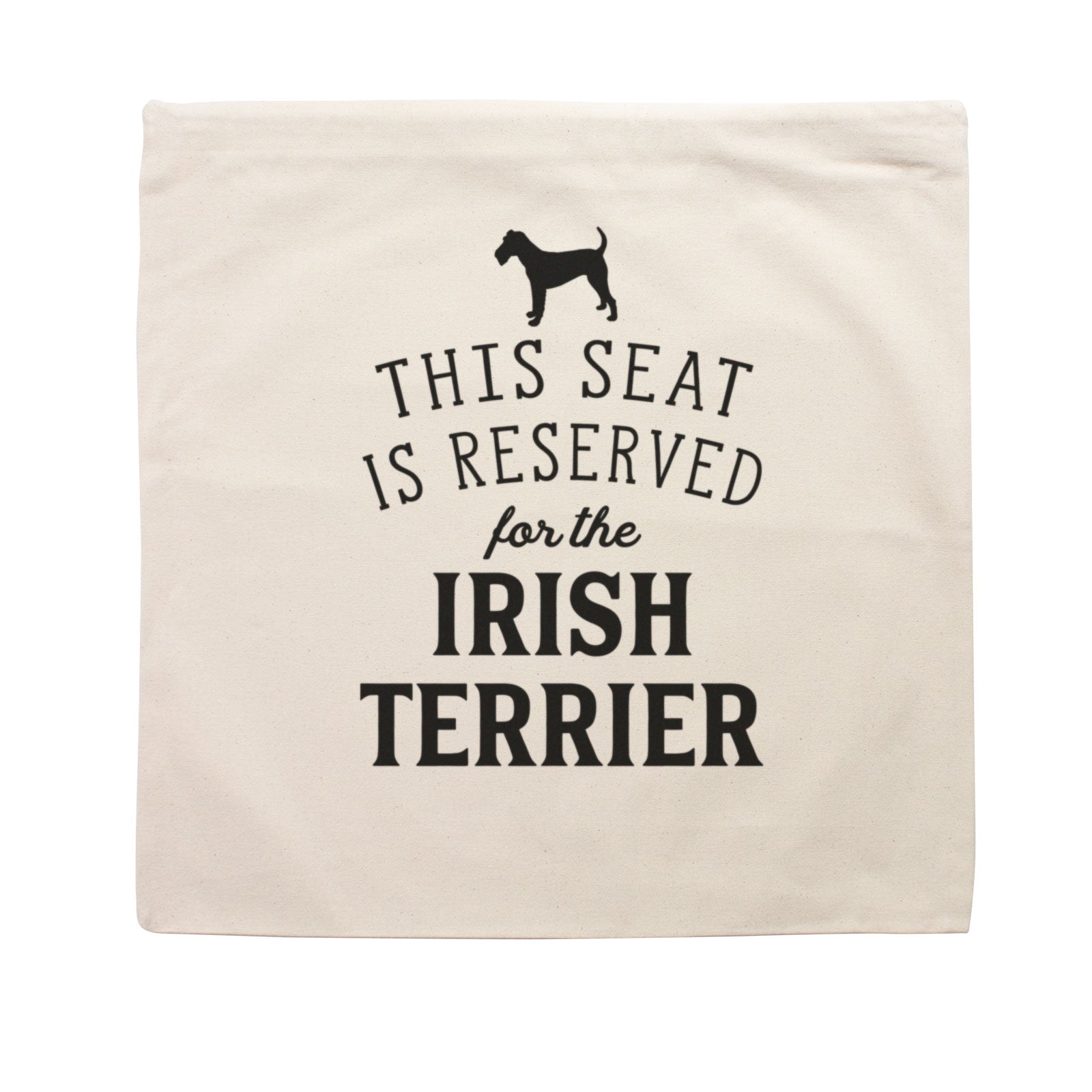 Reserved for the Irish Terrier Cushion Cover