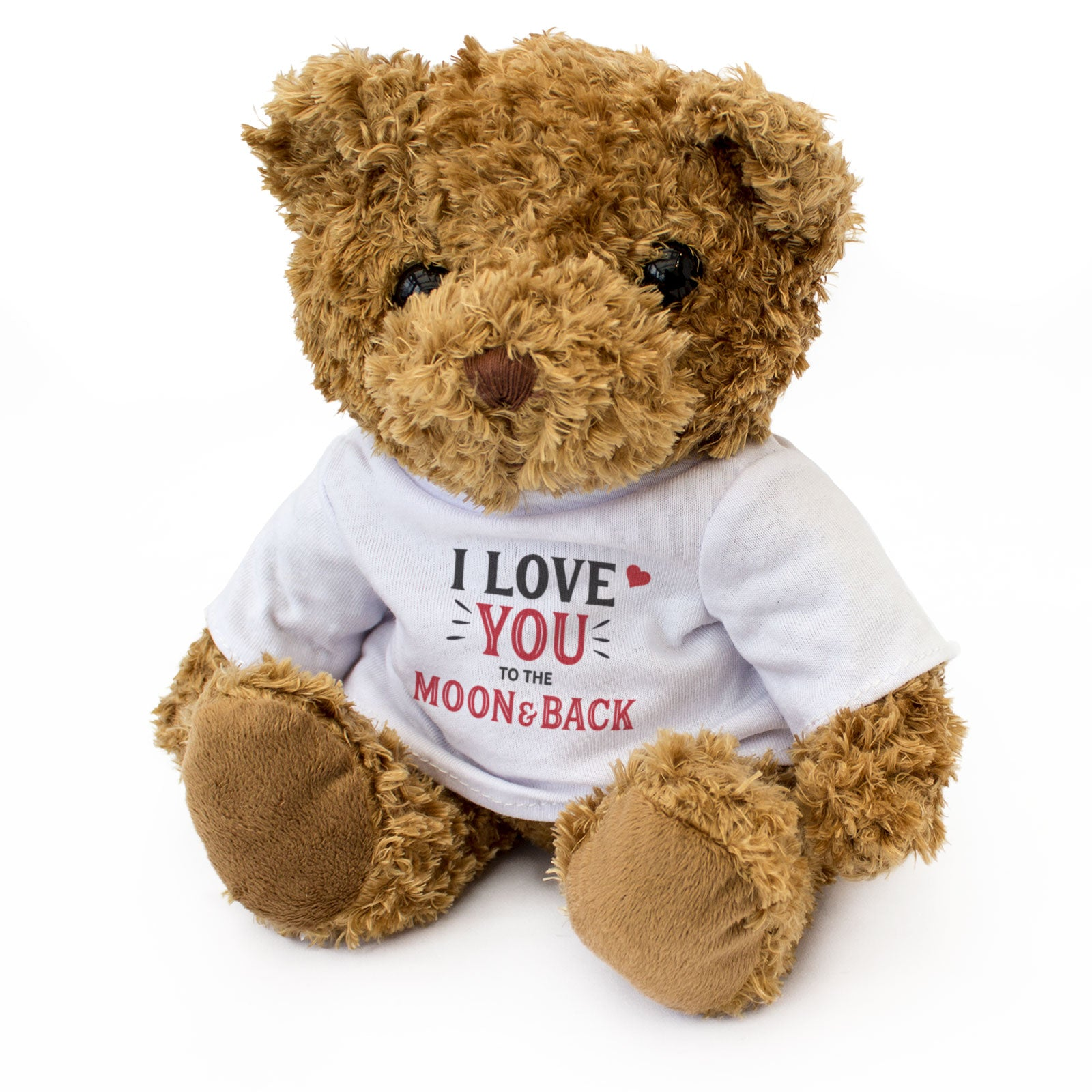 I Love You To The Moon And Back Teddy Bear Gift