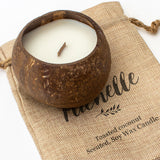 MICHELLE - Toasted Coconut Bowl Candle – Soy Wax - Gift Present