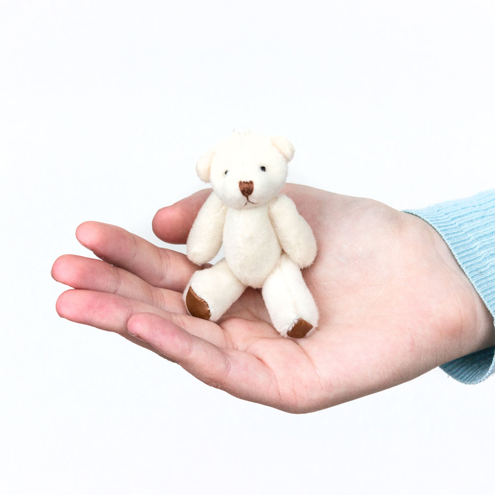 Small WHITE Teddy Bears X 50 - Cute Soft Adorable