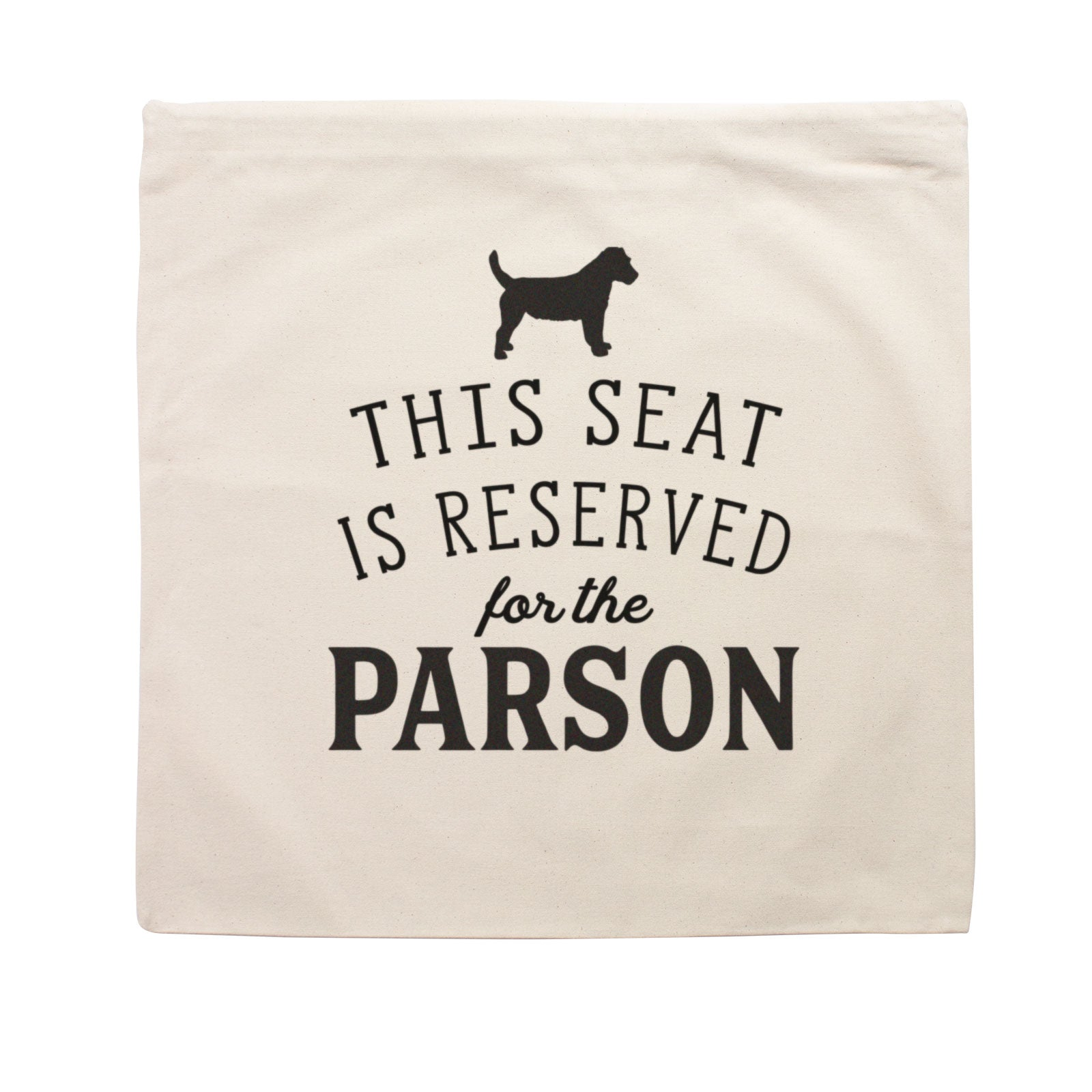 Reserved for the Parson Cushion Cover