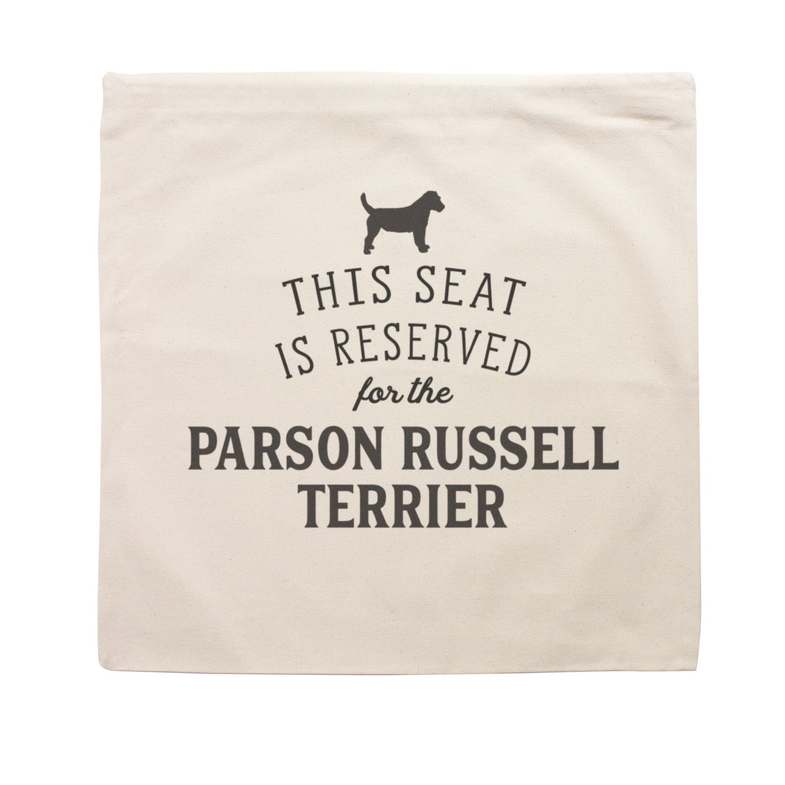 Reserved for the Parson Russell Terrier Cushion Cover