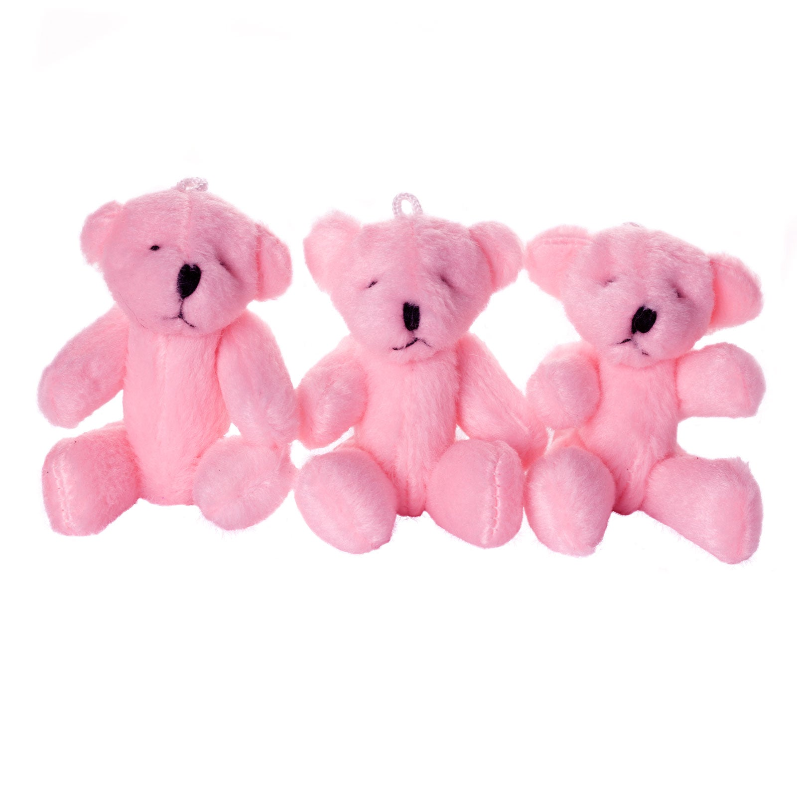Small PINK Teddy Bears X 60 - Cute Soft Adorable