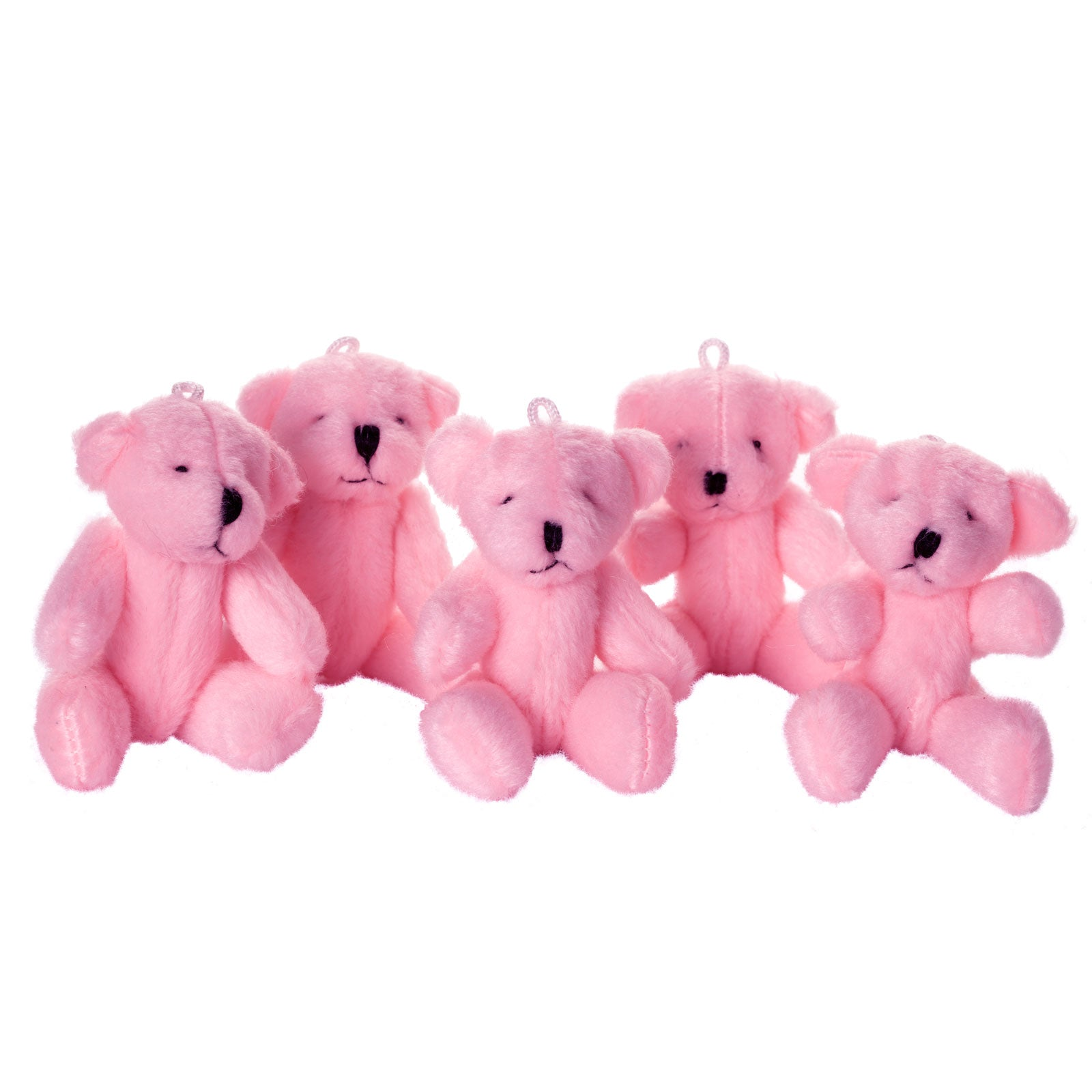 Small PINK Teddy Bears X 50 - Cute Soft Adorable