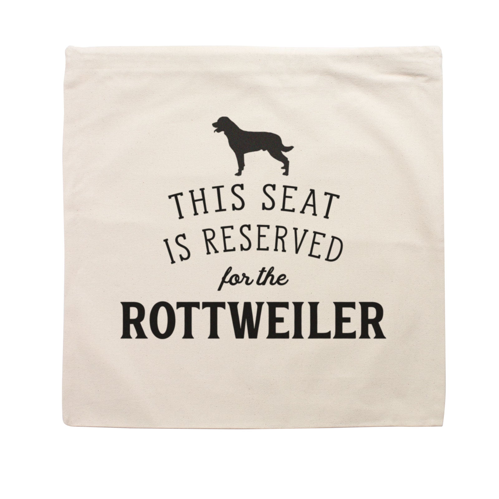 Reserved for the Rottweiler Cushion Cover