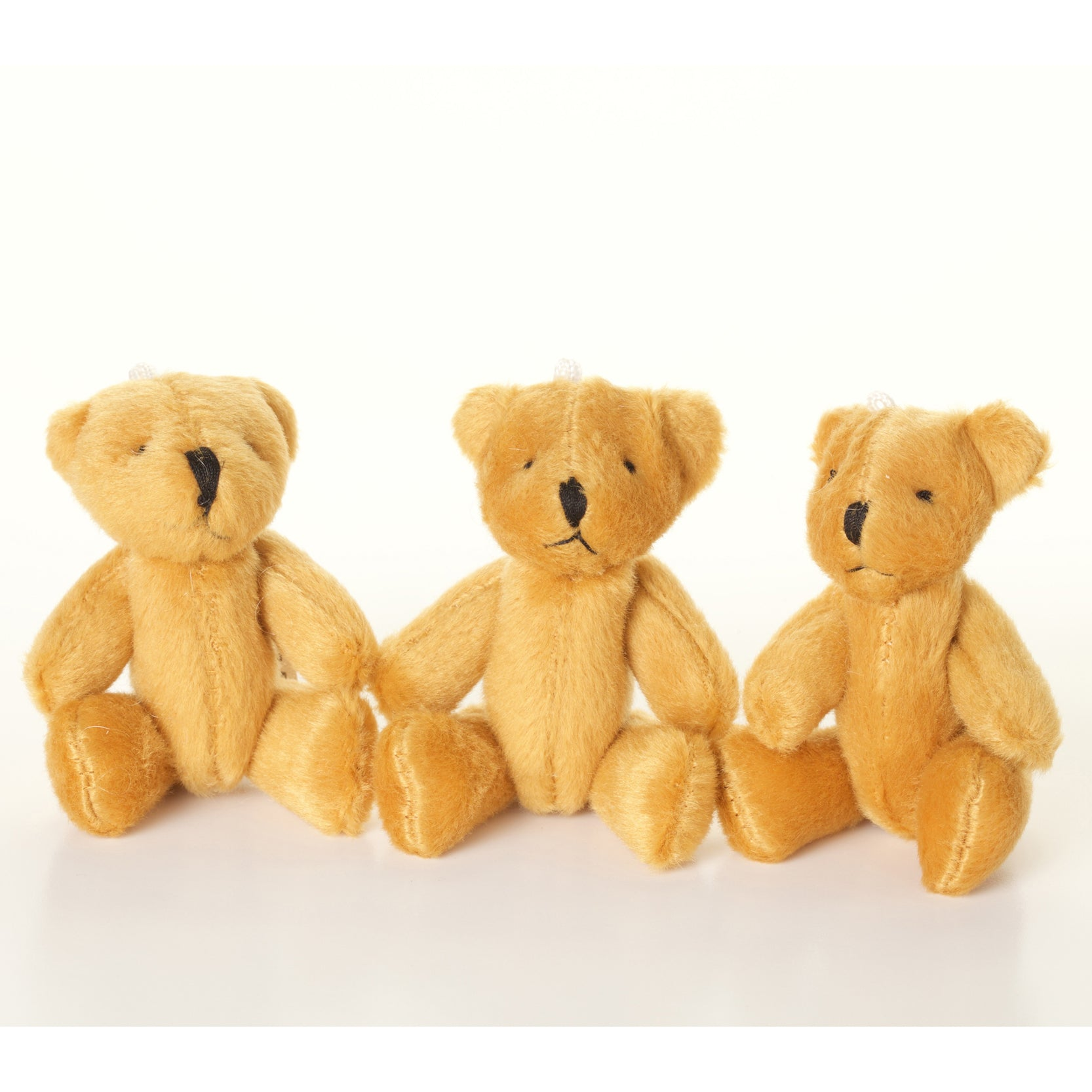 Small BROWN Teddy Bears X 80 - Cute Soft Adorable