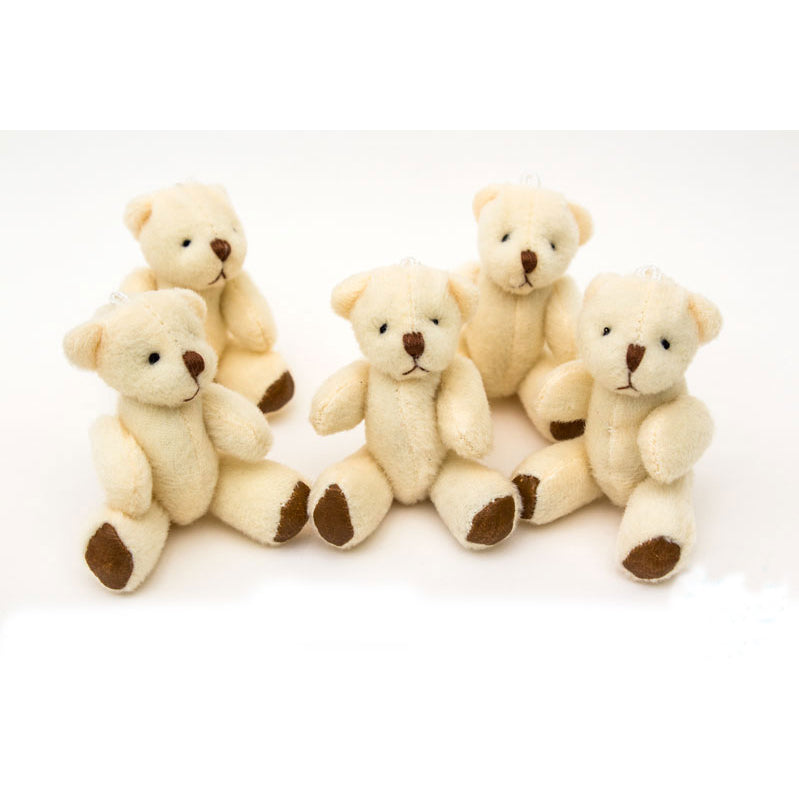 Small WHITE Teddy Bears X 30 - Cute Soft Adorable