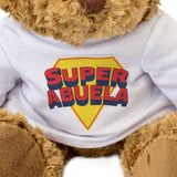 SUPER ABUELA - Teddy Bear - Cute Soft Cuddly - Gift Present