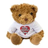 Personalised Happy Valentines Teddy Bear