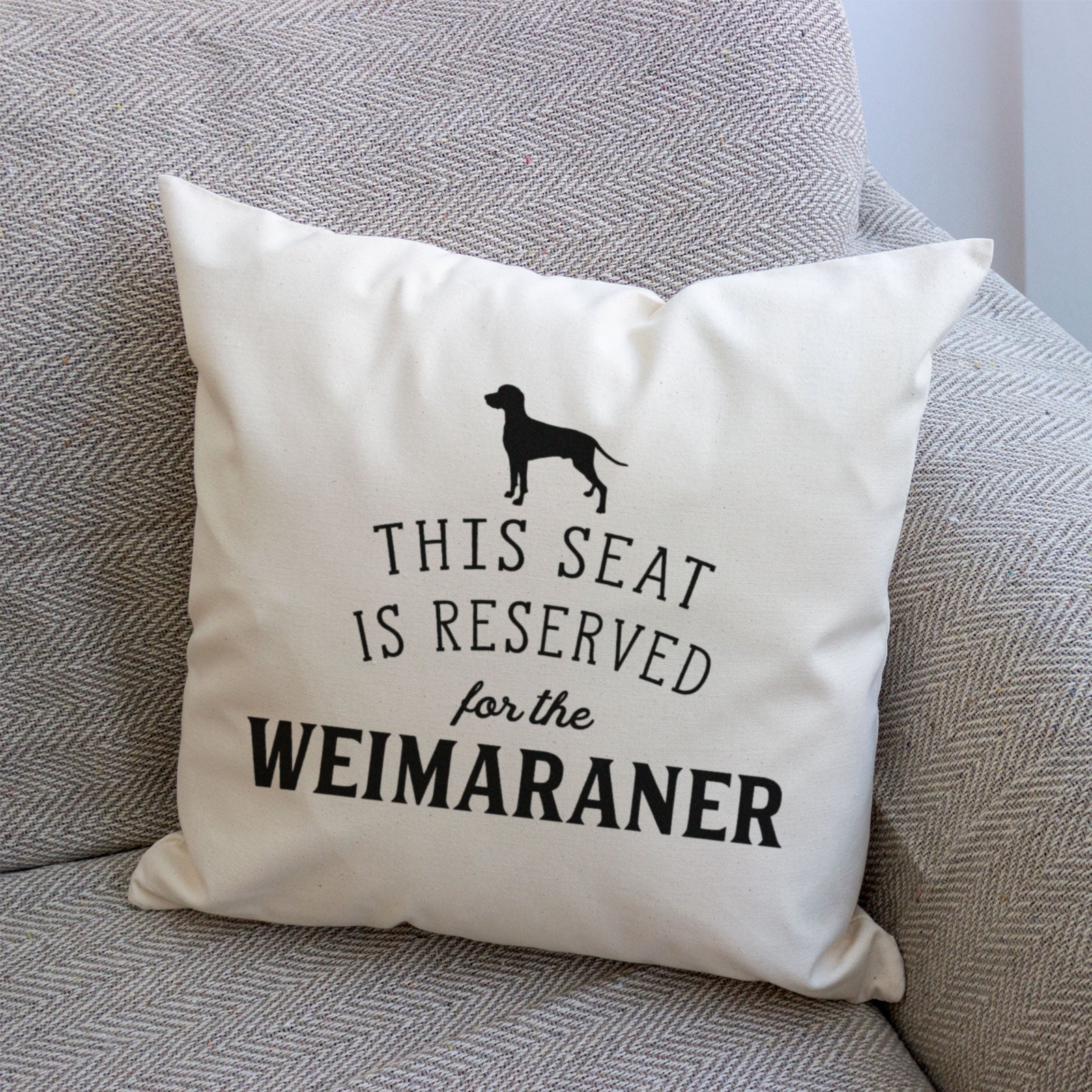 Reserved for the Weimaraner Cover