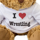 I Love Wrestling - Teddy Bear