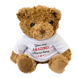 Personalised Teddy Bear - You Are Amazing