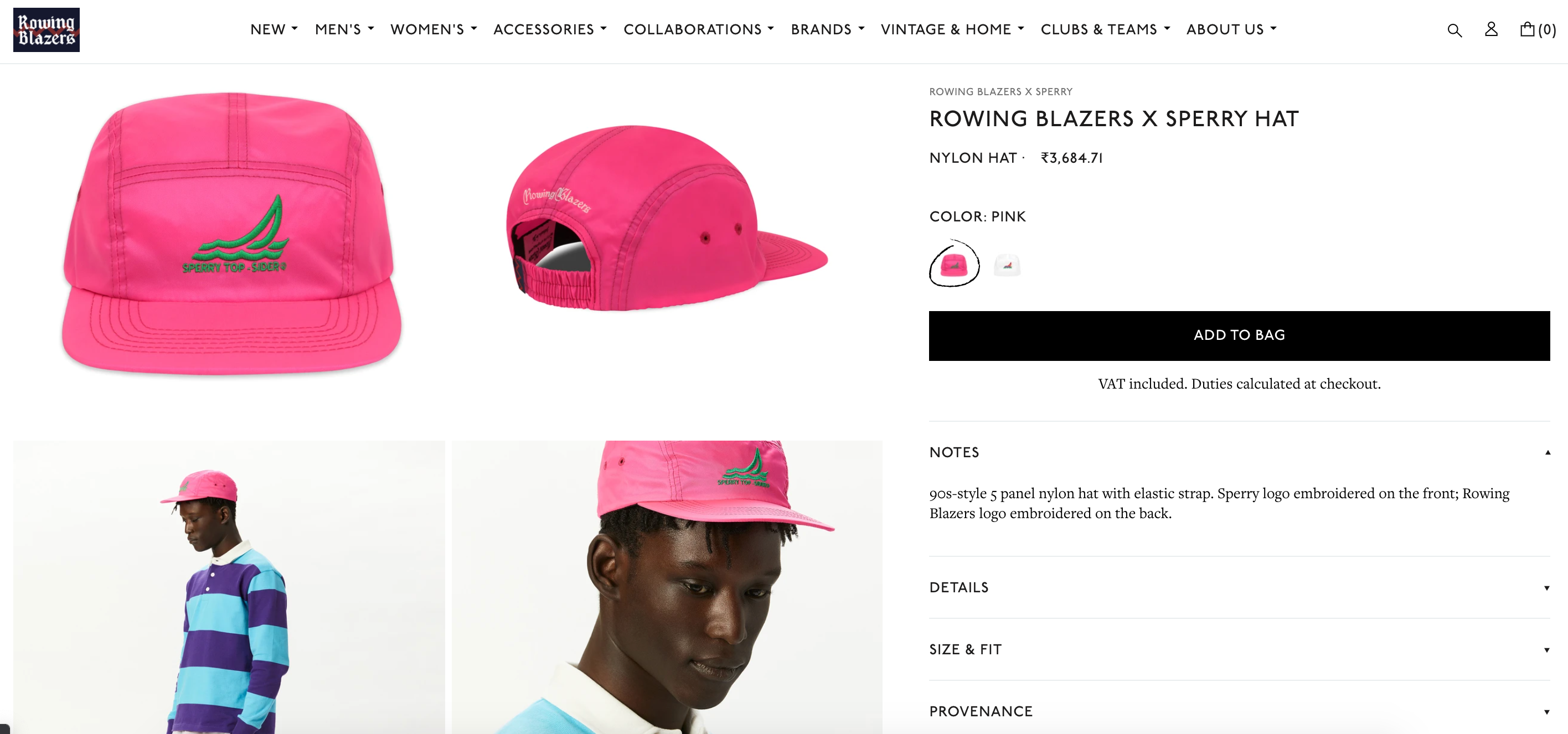product page shopify store design