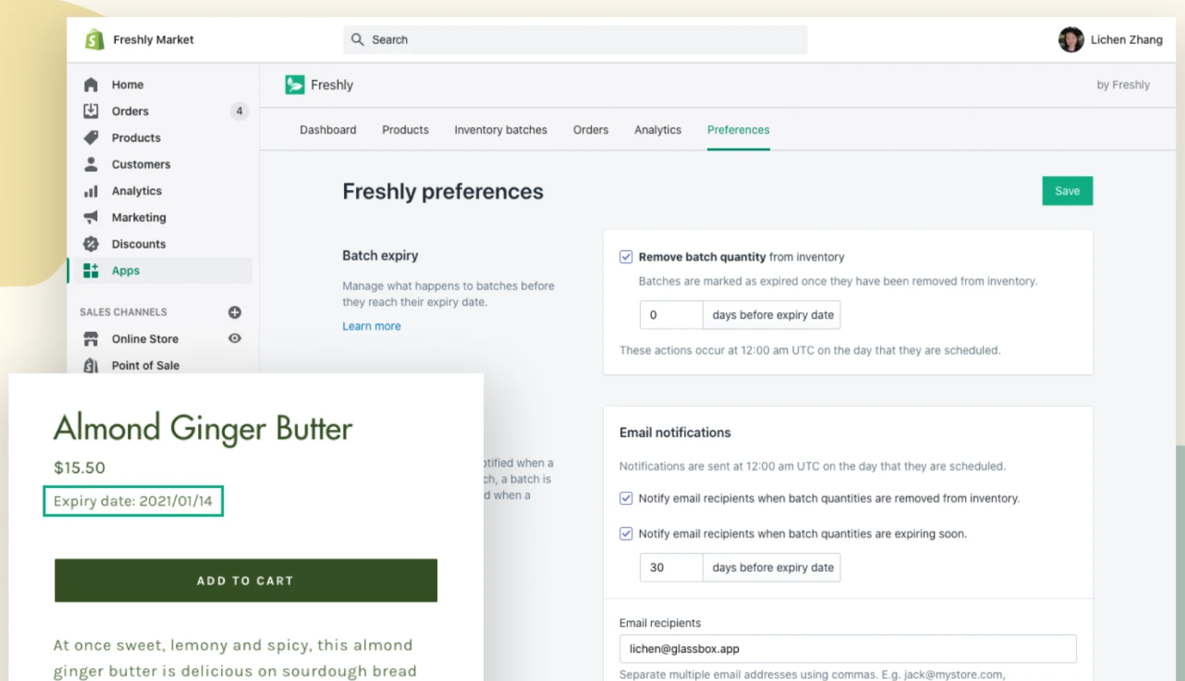 best shopify apps for food business