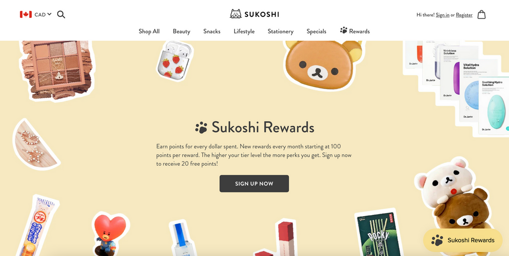 loyalty program for customer retention shopify