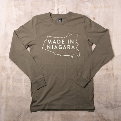 Made In Niagara Long Sleeve - Palatine Hills Winery