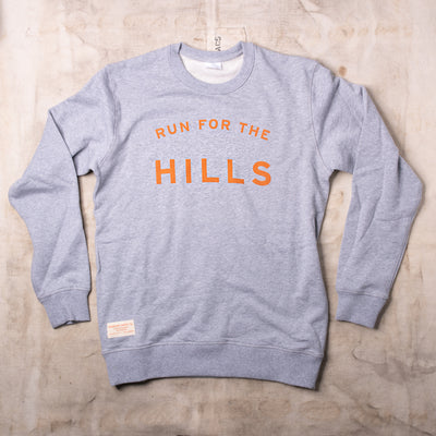 Run For The Hills Crewneck - Palatine Hills Winery