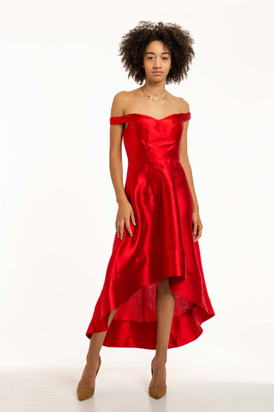 Sweet Heat Neck Off Shoulder Gown Evening Dress