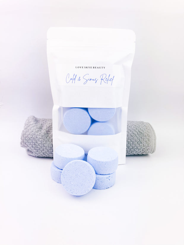 Cold & Sinus Relief Shower Steamers