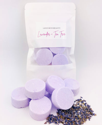 Lavender + Tea Tree Shower Steamers