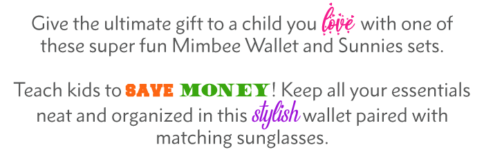 Collections for site sunnies and wallet text