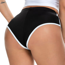 Load image into Gallery viewer, Women Sexy Stretchy Sports Shorts Black