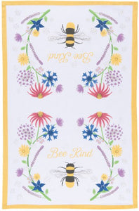 "Tea Towel - ""Bee Kind"""